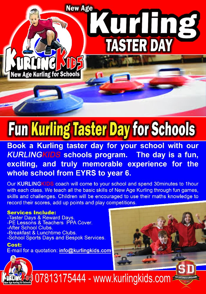 Kurling Kids New Age Kurling for Schools