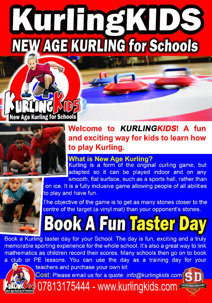 Kurlingkids new age kurling for schools
