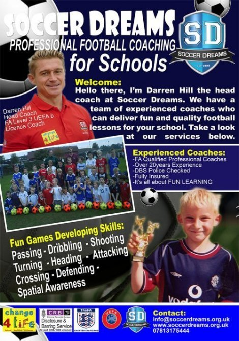 Football Coaching for Schools